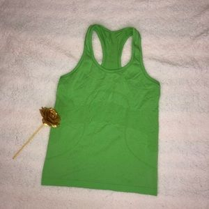 Lululemon Green Run Swiftly Tank Sz 8